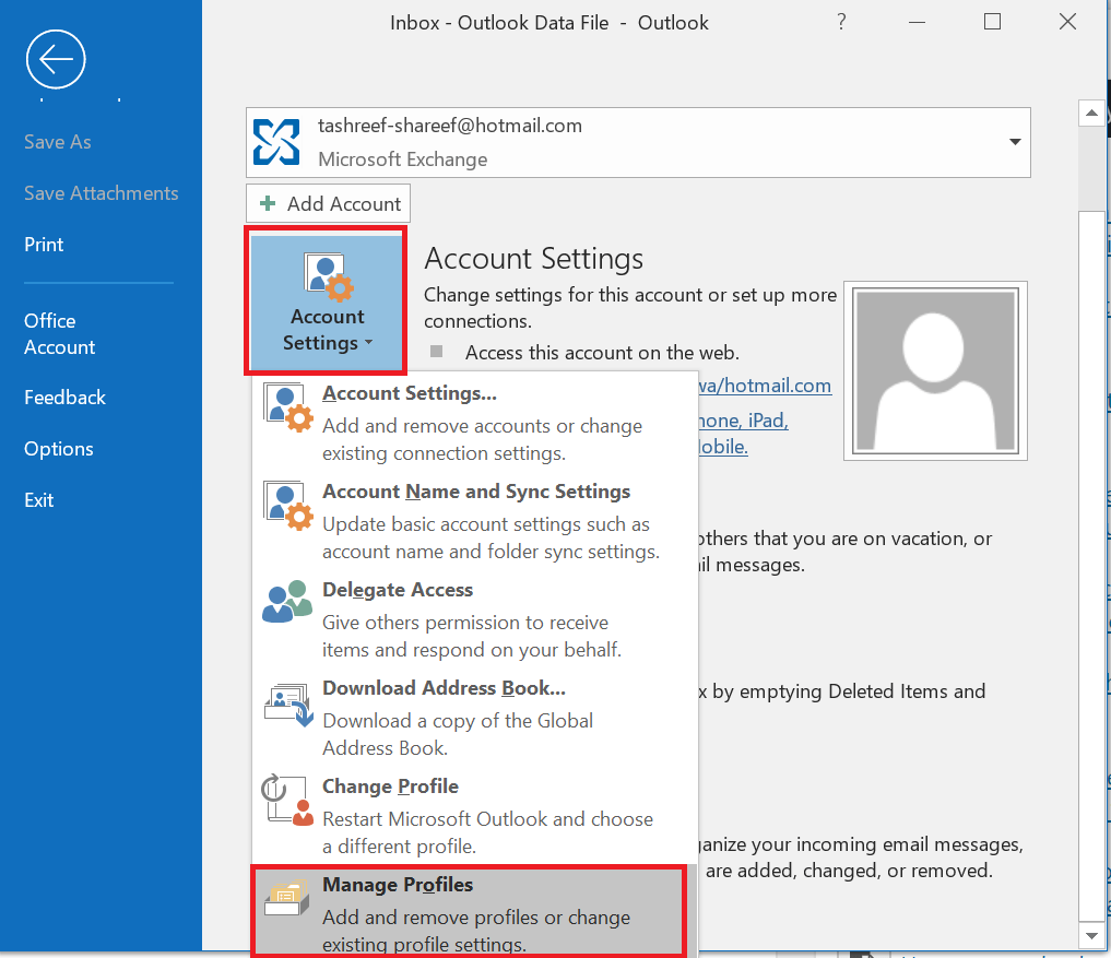 How to Stop the outlook Disconnection using Five steps